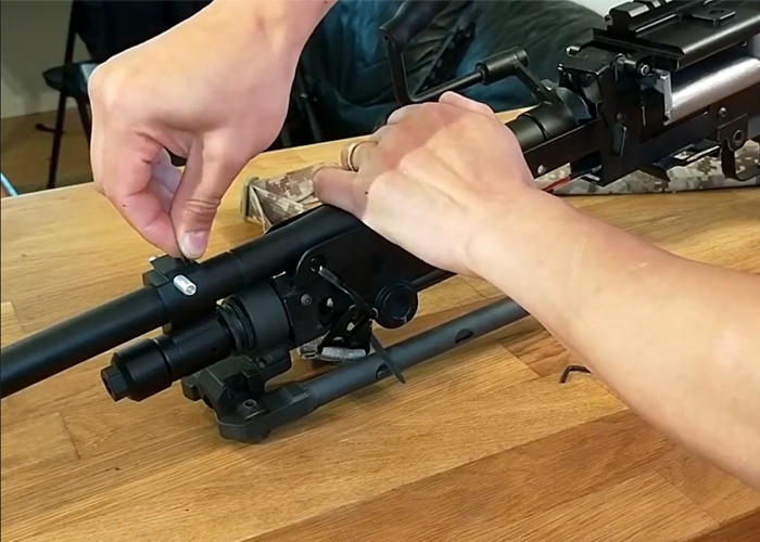 Killen Custom Airsoft Mk48 Barrel Conversion Kit Installation