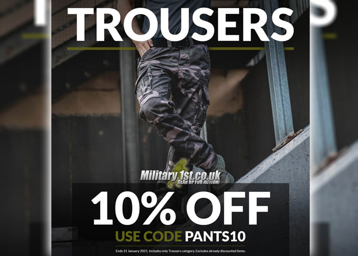 Military 1st Trouser Sale 2021
