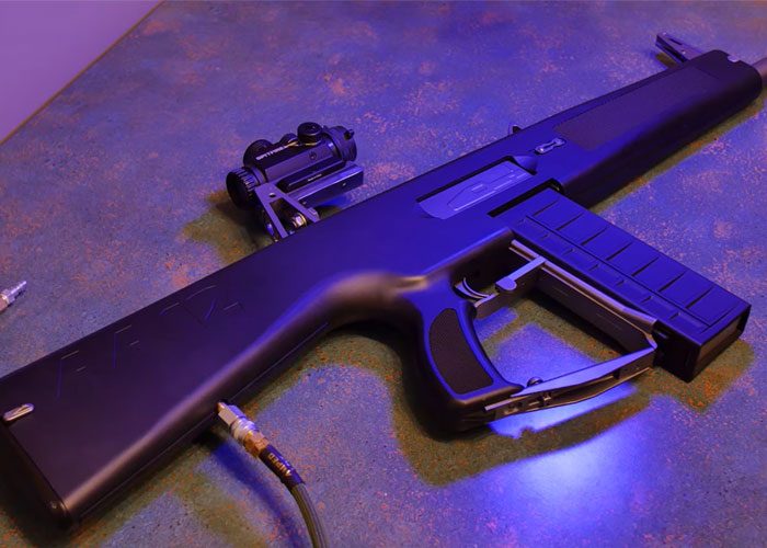 3-D Videos In-Depth Look At An HPA Powered Tokyo Marui AA-12