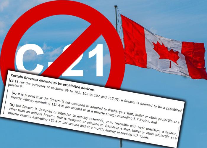 Canada Bill C-21