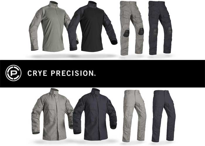Crye Precision G3 Combat & Field Apparel In Navy & Wolf Gray