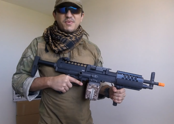 Aces Airsoft Classic Army Stoner LMG Review | Popular Airsoft
