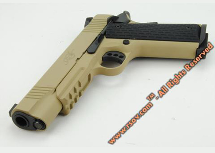 Army R28 Kimber Warrior GBB Pistol | Popular Airsoft: Welcome To The