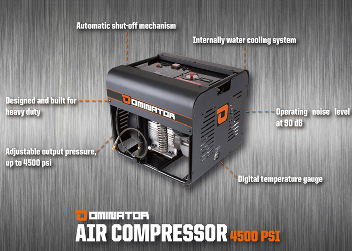 New Dominator Air Compressor Announced | Popular Airsoft: Welcome To
