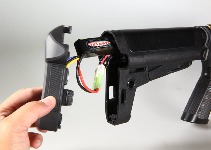 More On Krytac's AEG Battery Stock | Popular Airsoft: Welcome To The