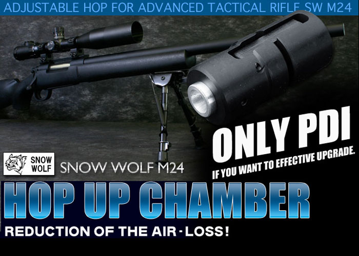 PDI Japan Snow Wolf M24 Hop Up Chamber | Popular Airsoft