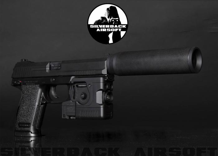 Silverback Airsoft MK23 Suppressor Released | Popular Airsoft
