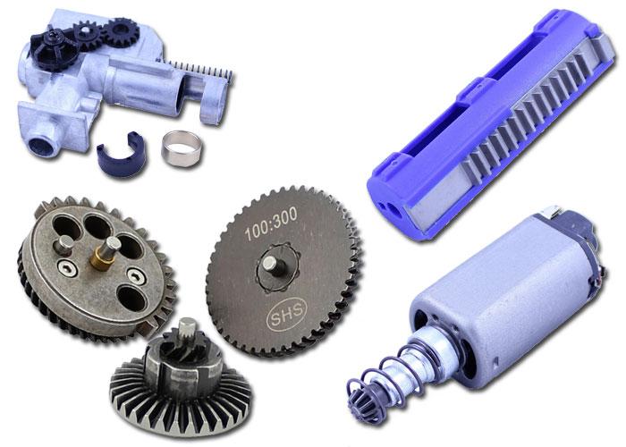 Raptors Airsoft: SHS Upgrade Parts Restock   Popular Airsoft