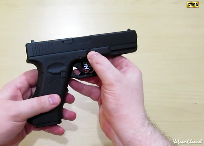CYMA Glock 18C AEP Quick Video Review | Popular Airsoft