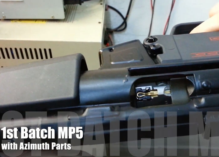 VFC MP5 GBB with Azimuth Parts | Popular Airsoft: Welcome To