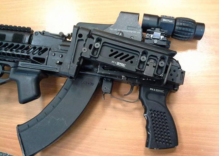 Asura Dynamics PT-1 Stock Replica | Popular Airsoft: Welcome To The
