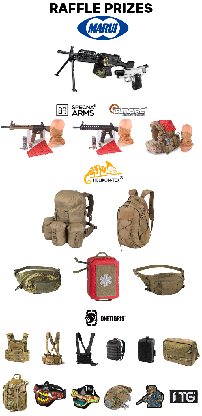 10 APCA Raffle Prizes