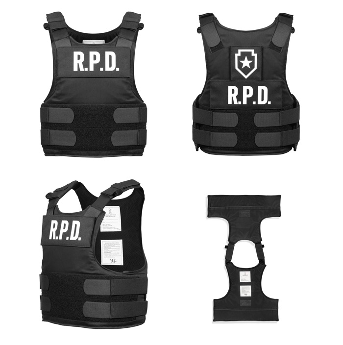 Limited Edition Resident Evil RE:2 Leon S. Kennedy RPD Vest Replica 03