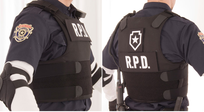 Limited Edition Resident Evil RE:2 Leon S. Kennedy RPD Vest Replica 04