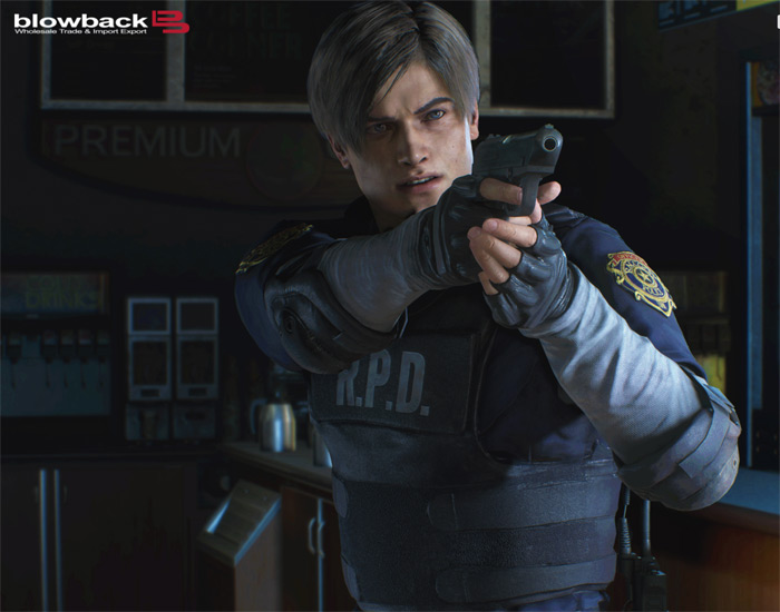 Limited Edition Resident Evil RE:2 Leon S. Kennedy RPD Vest Replica 05