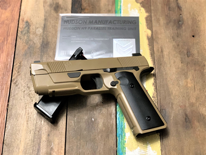 EMG Hudson H9 Airsoft GBB Pistol Review 04
