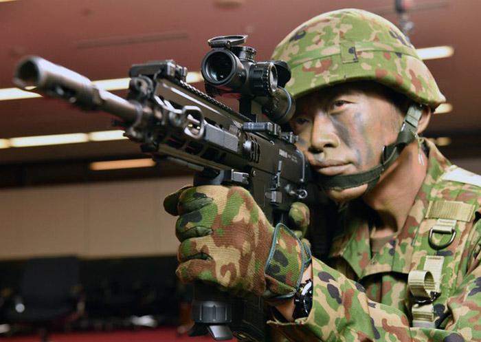 JGSDF HOWA Type 20 Rifle 02