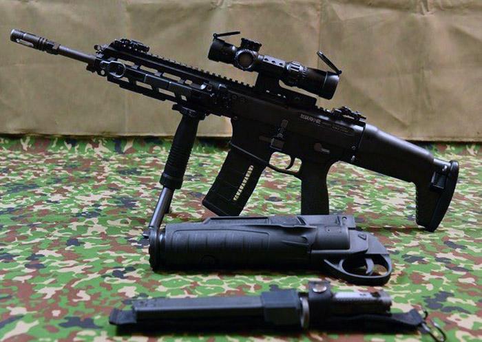 JGSDF HOWA Type 20 Rifle 03