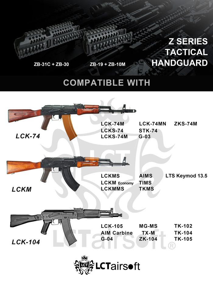 LCT Airsoft KeyMod & Z-Series Handguards 09