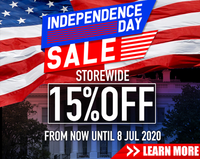 RedWolf Airsoft Independence Day Sale 2020