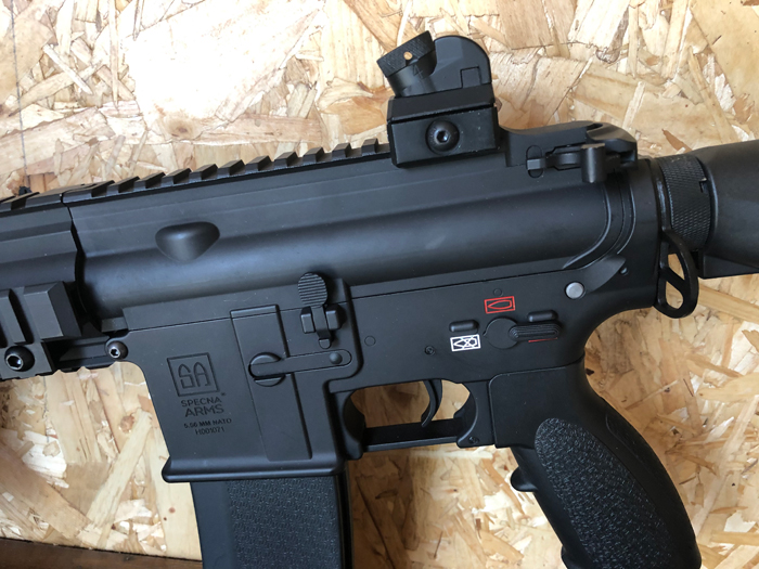 Specna Arms SA-H20 EDGE 2.0 AEG Review 09