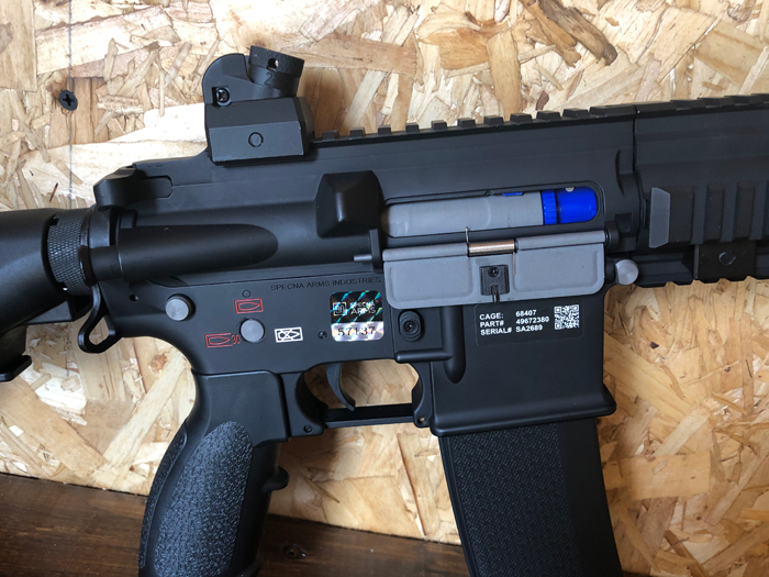 Specna Arms SA-H20 EDGE 2.0 AEG Review 11