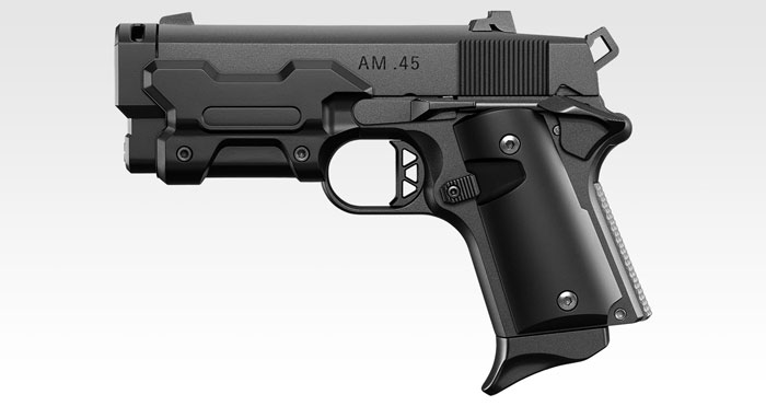 Tokyo Marui AM.45 GBB Black Pistol 02