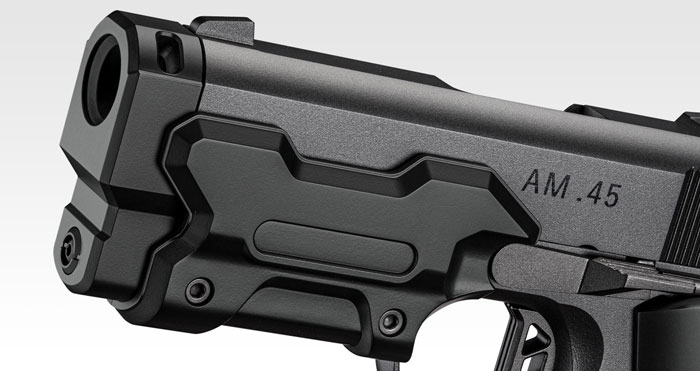 Tokyo Marui AM.45 GBB Black Pistol 03