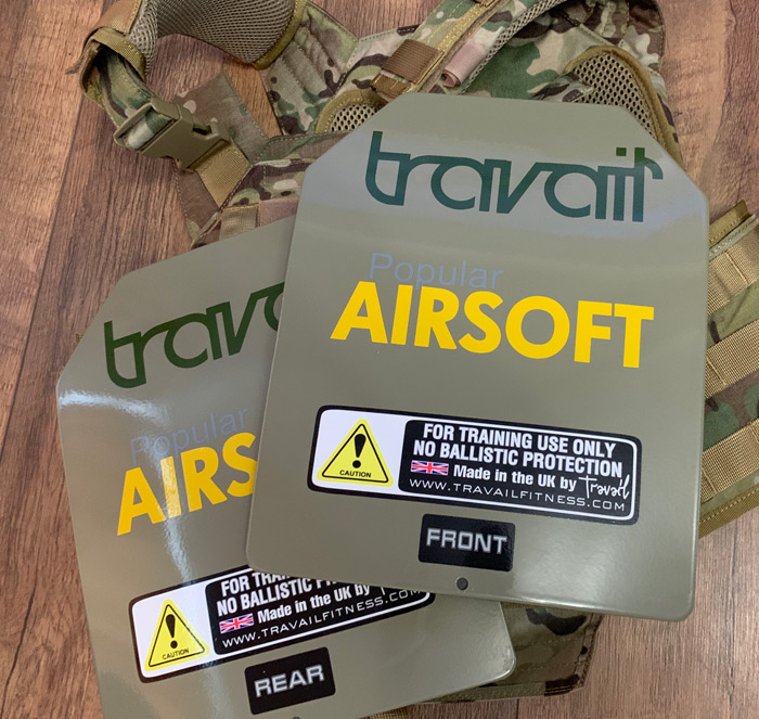 Travail Fitness Group Training Plates 04