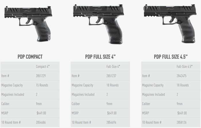 Walther PDP 03